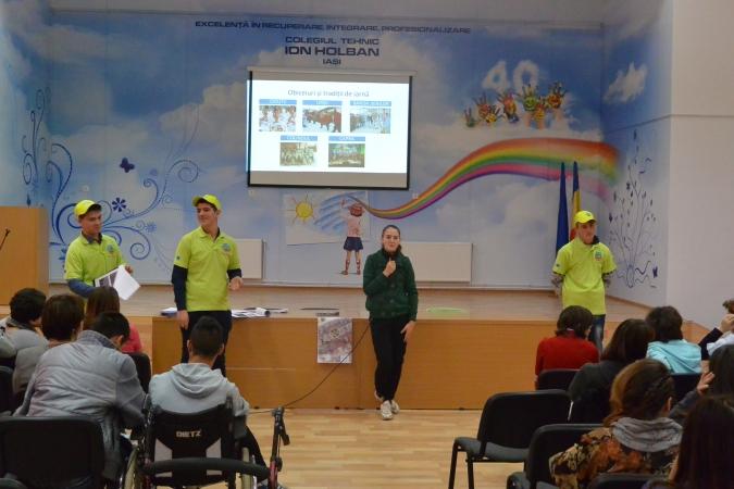 "Prezentare Colegiul Tehnic ""Ion Holban"" Iasi, 26 nov 2014"