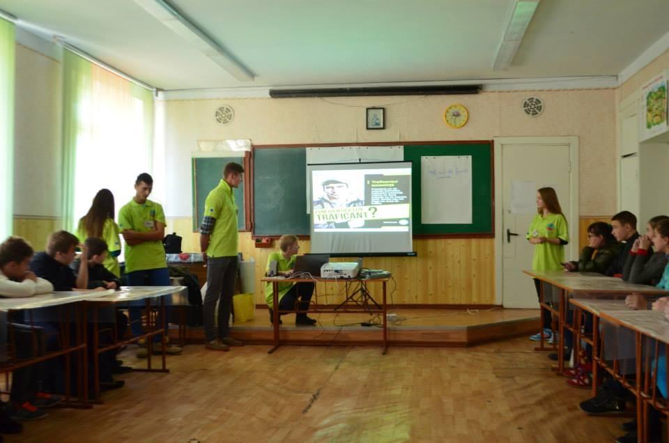 Sesiune de informare in randul copiilor